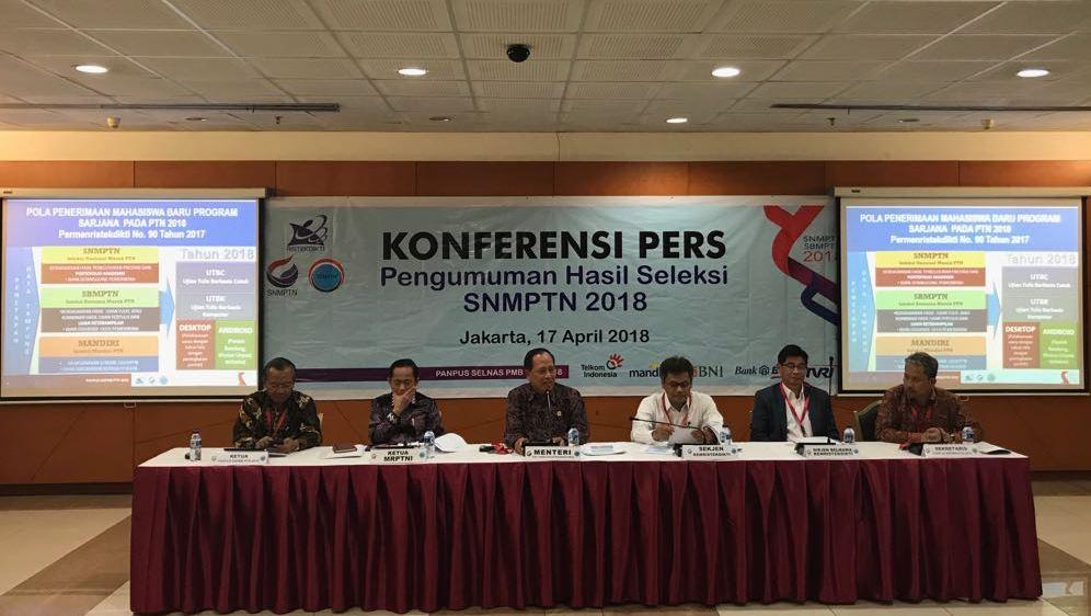 Pengumuman Kelulusan SNMPTN 2018 Dibuka Hari Ini