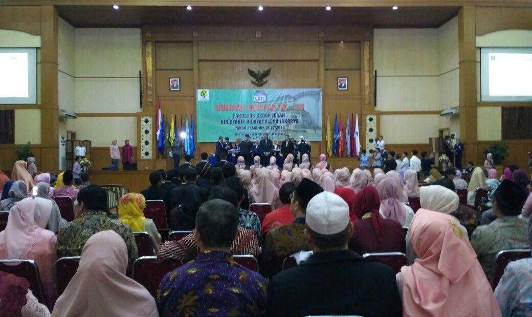 FK UIN Jakarta Holds Hippocratic Oath