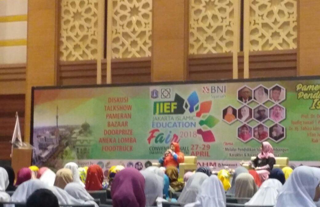 Jakarta Islamic Education Fair 2018 Resmi Dibuka