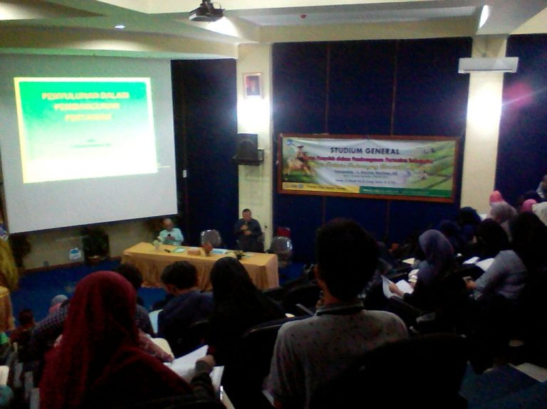 Agribusiness Department Holds Studium Generale