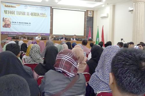 Quraish Shihab: Penafsiran Al-Qur'an Bersifat Subyektif