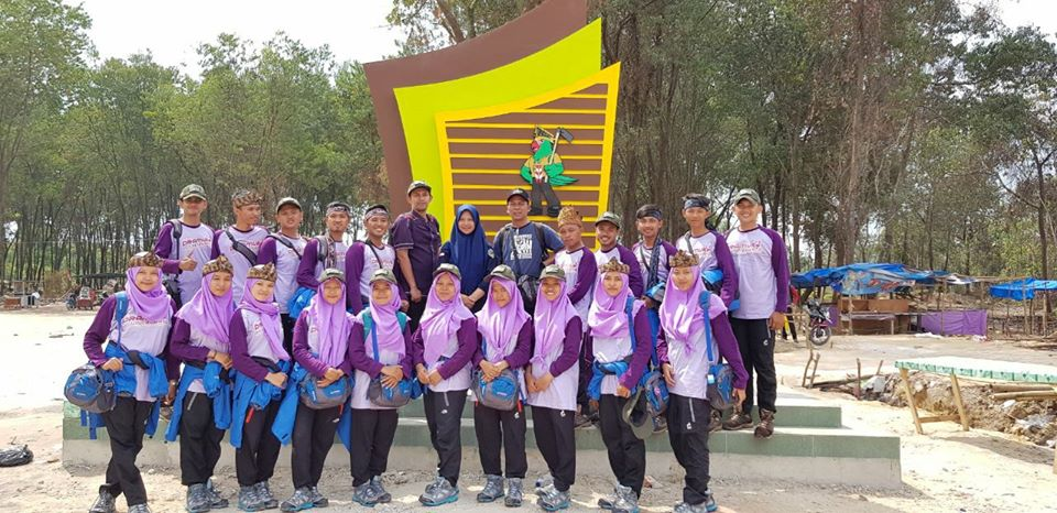 PW Contingent of UIN Jakarta Back to Campus