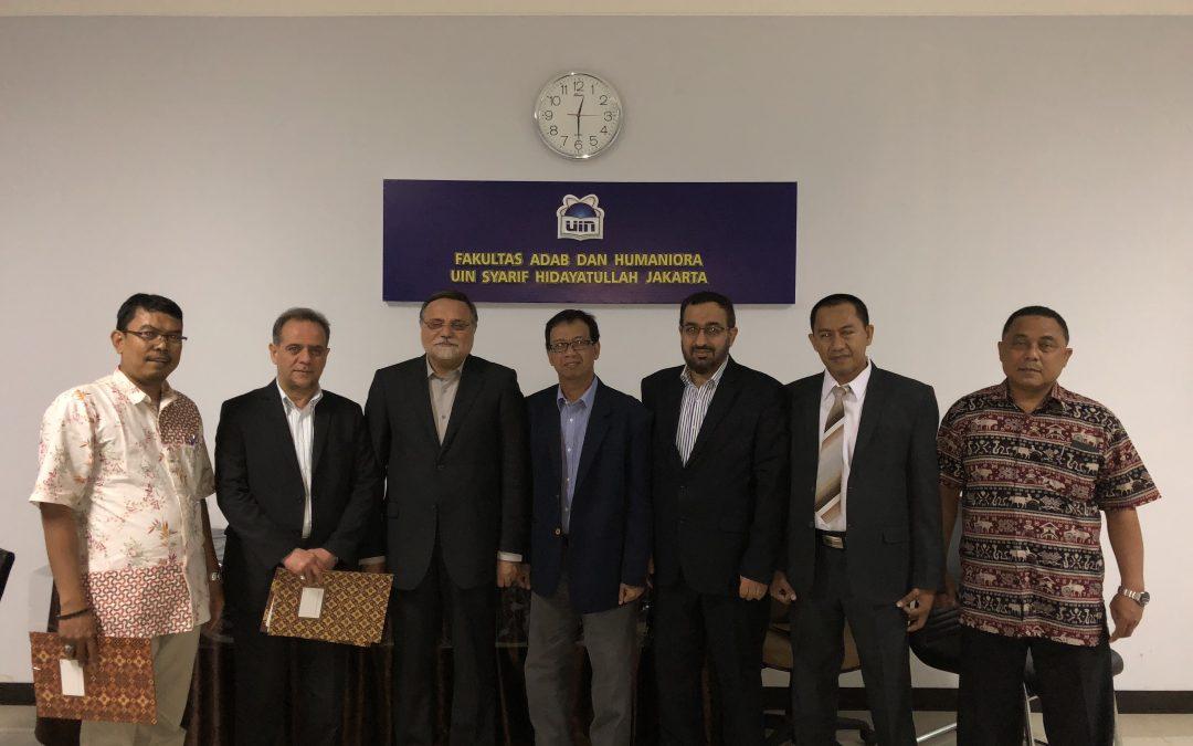 FAH Jalin Kerjasama Bidang Kebudayaan Dengan Tiga Lembaga Iran