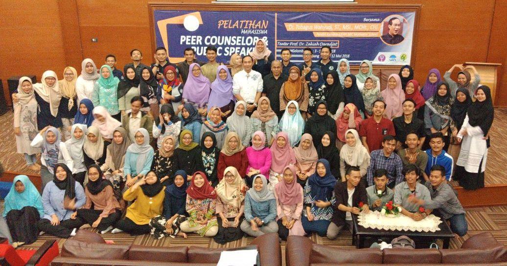 Fakultas Psikologi Gelar Peer Counselor dan Public Speaking