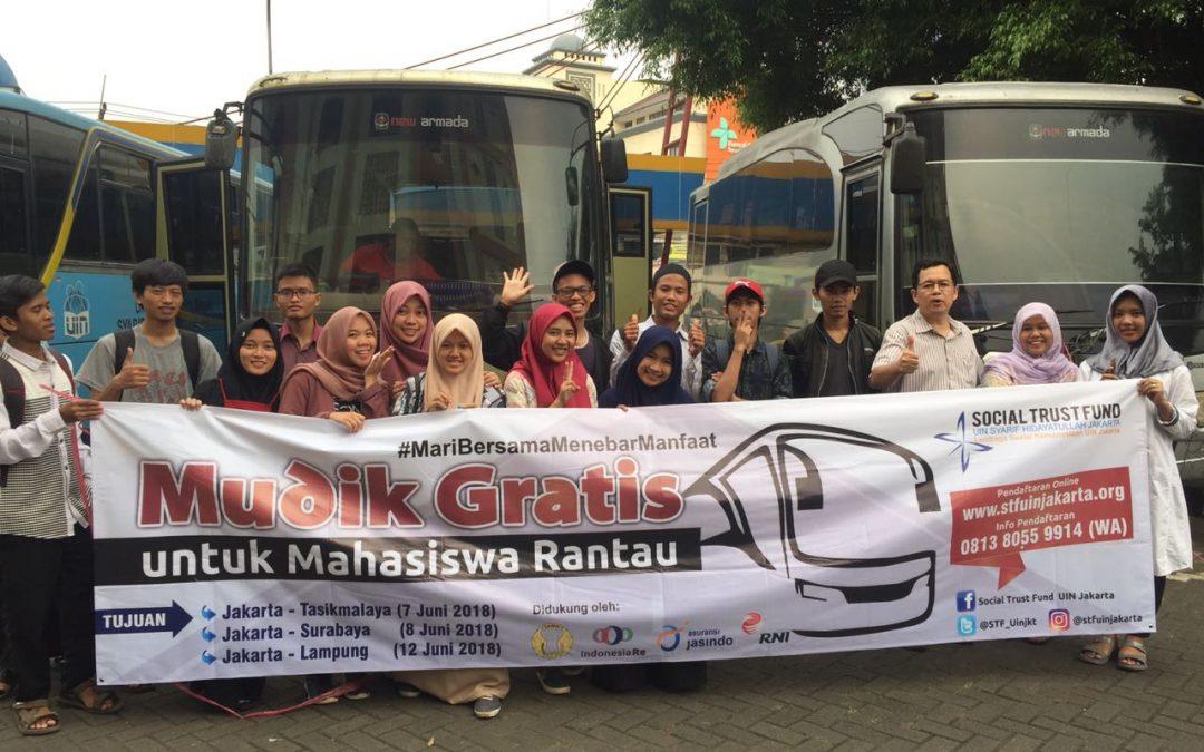 STF UIN Jakarta Held Free Mudik