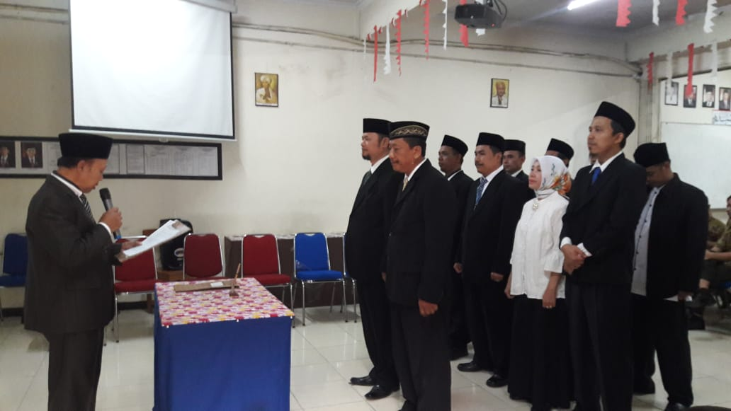 Suparta Inaugurated Triguna Utama Principal