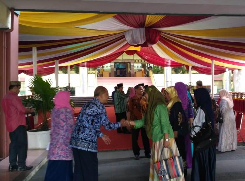 UIN Jakarta's Academic Community Holds Halal bi Halal 1439H