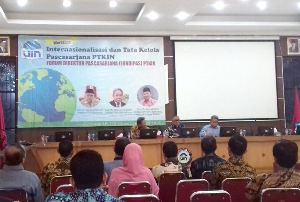 Rektor Buka Forum Fordipas PTKIN
