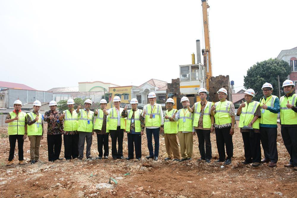 UIN Jakarta Holds Groundbreaking Ceremony