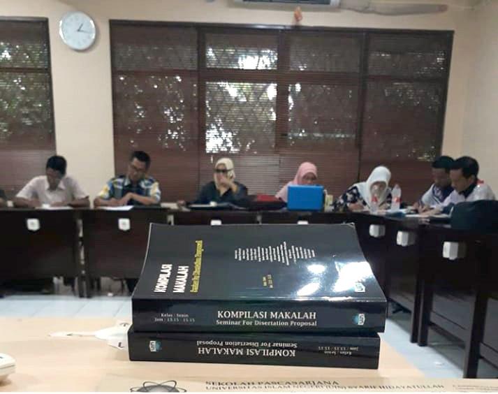 SPs UIN Jakarta Holds Final Semester Exam