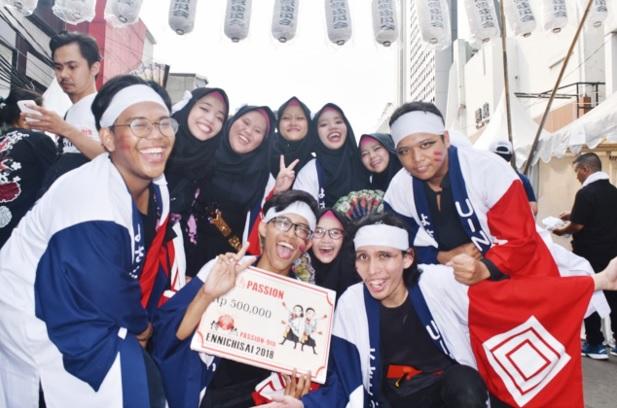 UIN Jakarta's Yosakoi Team Became Champion in Little Tokyo