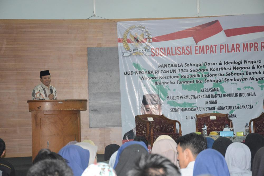 Wakil Ketua MPR: Mahasiswa Harus Jaga NKRI