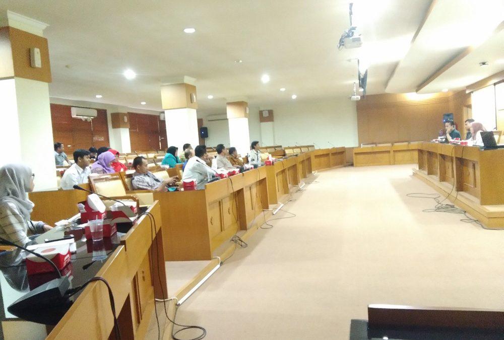 Pimpinan UIN Jakarta Gelar Rakor PBAK Mahasiswa Baru