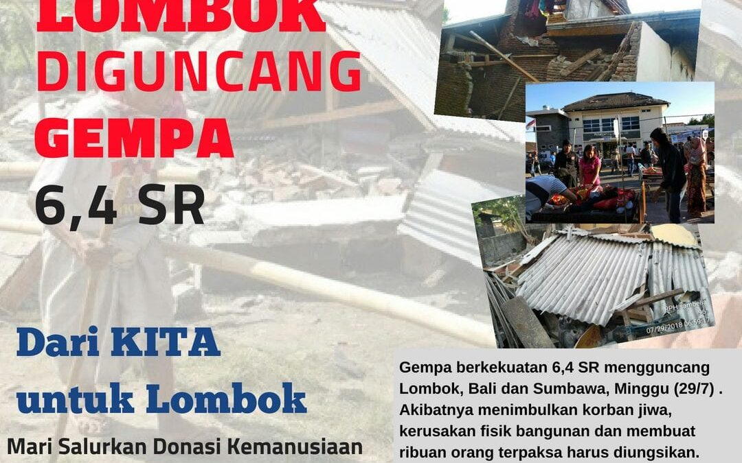 STF UIN Jakarta Ajak Sivitas Bantu Korban Gempa Lombok