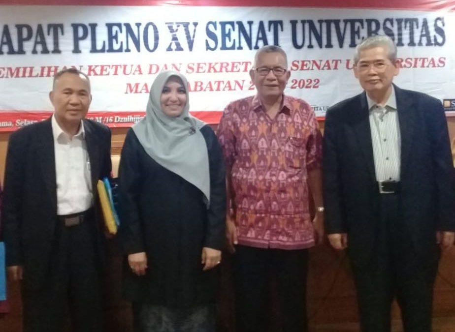 Prof. Abuddin and Prof. Amany leads UIN Jakarta Senate 2018-2022