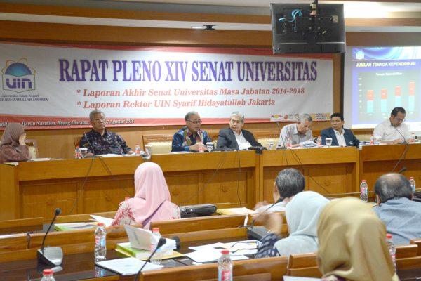 Senat Universitas Gelar Sidang Pleno