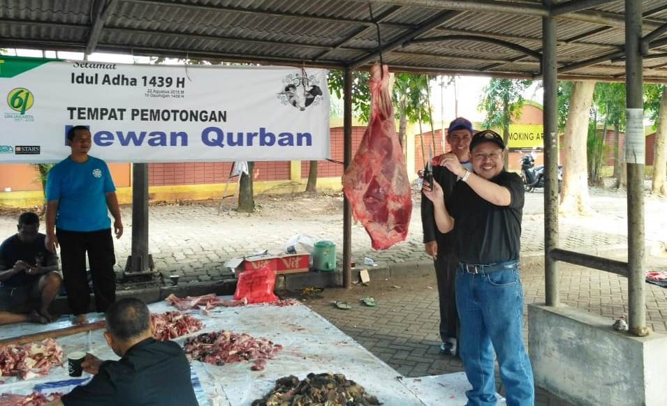 UIN Jakarta Tebar Daging Hewan Kurban ke Beberapa Wilayah