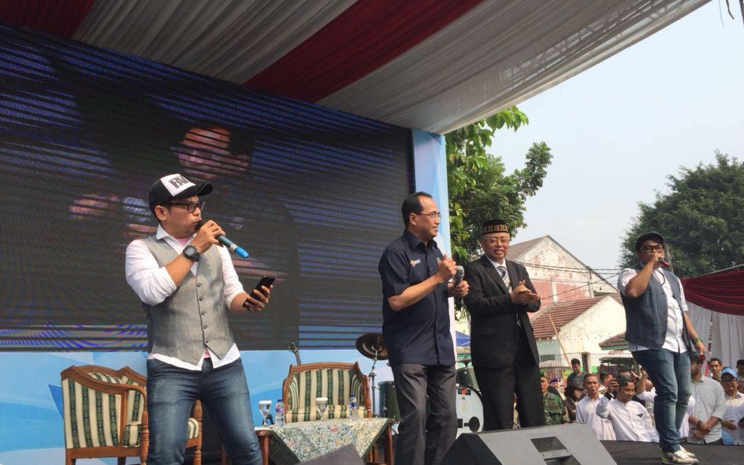Menhub Berbagi Cerita dan Semangat Dengan Maba UIN Jakarta