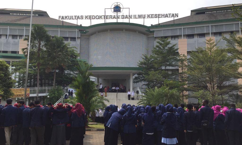 FK-FIKes UIN Jakarta Deklarasikan Kawasan Bebas Rokok