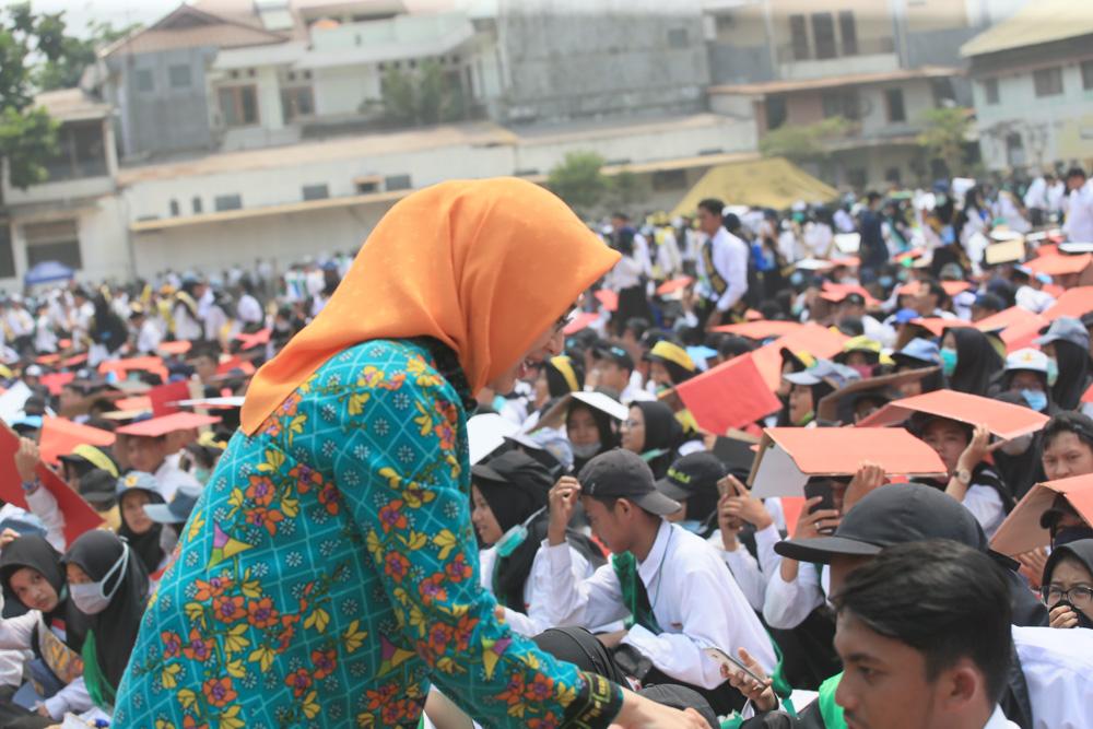 Airin Rachmi Diany Ajak Mahasiswa Bangun Kota Tangsel