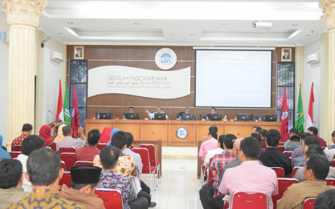 102 Mahasiswa Baru SPs UIN Jakarta Ikuti Orientasi Studi