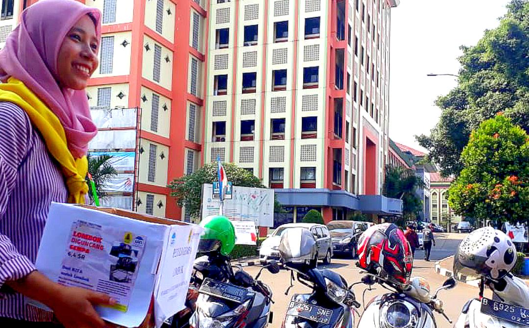 STF dan Ranita Galang Dana Korban Gempa Lombok
