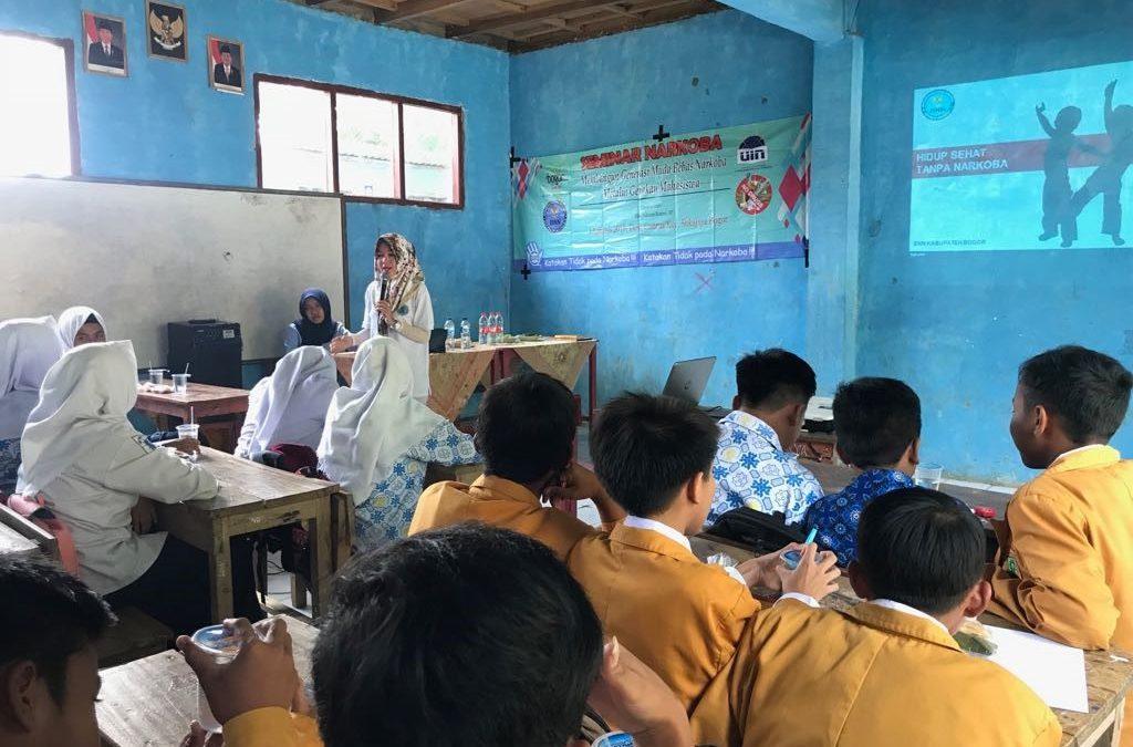Peserta KKN di Desa Cisarua Gelar Seminar Narkoba