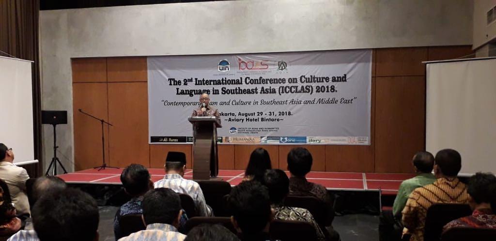 UIN Jakarta-ADIA Holds ICCLAS 2018