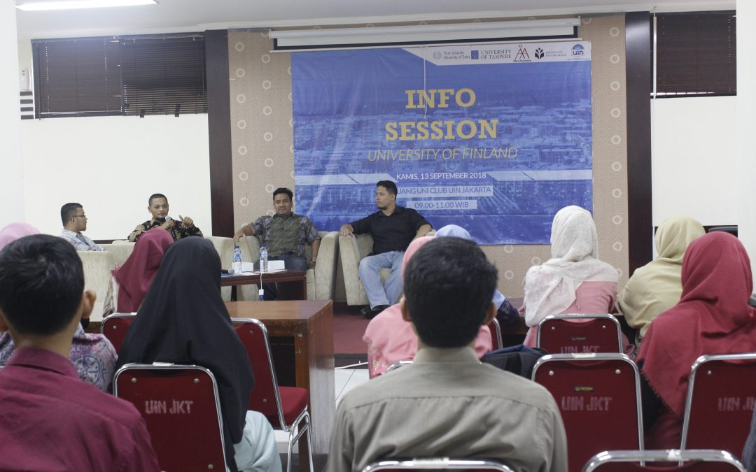 Info Session Finland University Banjir Pertanyaan