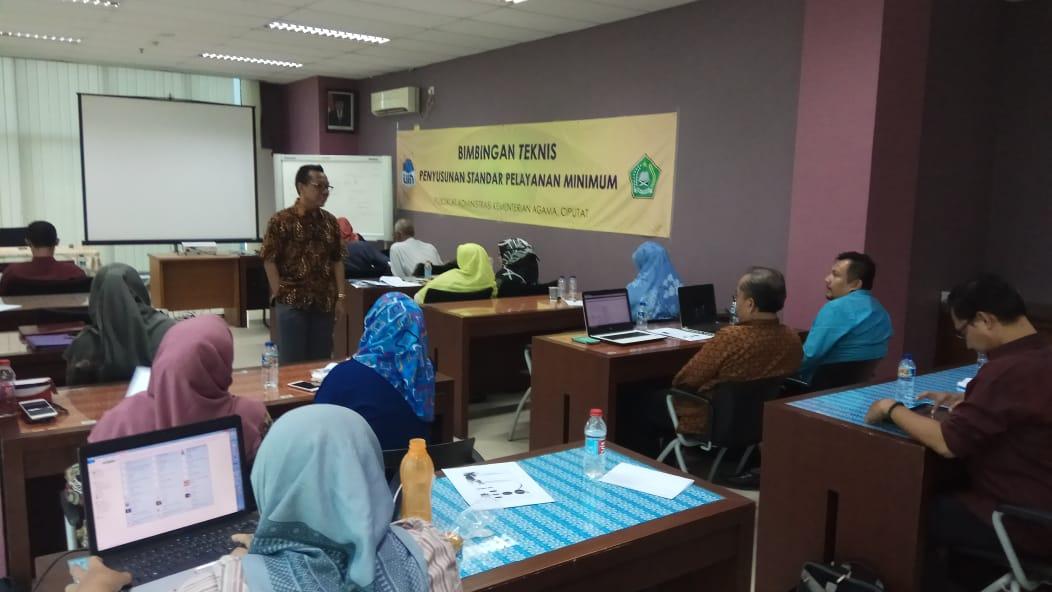 Guna Tingkatkan Kualitas Layanan, OKP UIN Jakarta Gelar Bimtek SPM