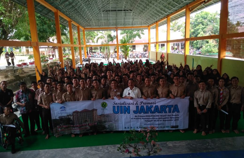 Sijunjung Students Shows Enthusiasm in Studying at UIN Jakarta