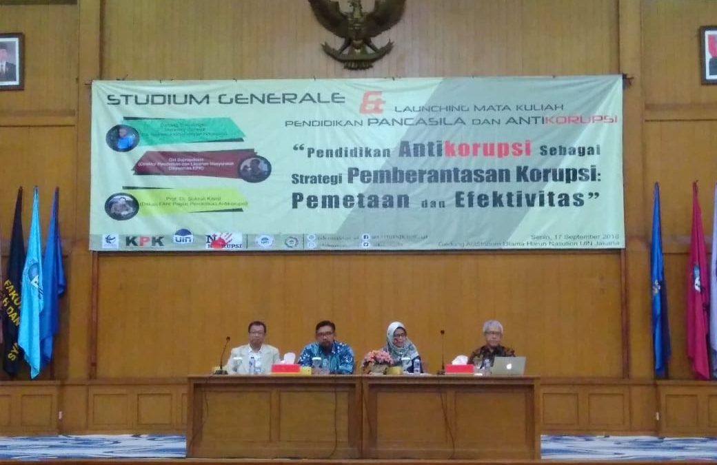 FAH UIN Jakarta Holds Studium Generale