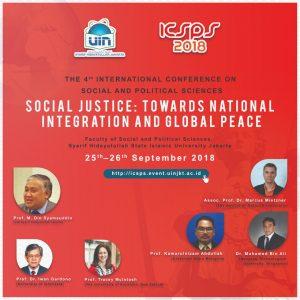 The 4th International Conference on Social and Political Sciences (ICSPS) @ Fakultas Ilmu Sosial dan Politik UIN Syarif Hidayatullah Jakarta | Banten | Indonesia