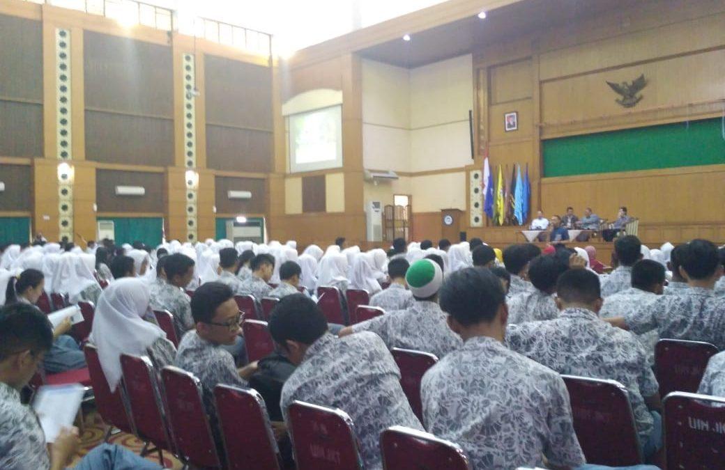 SMAN 73 Students Visit UIN Jakarta