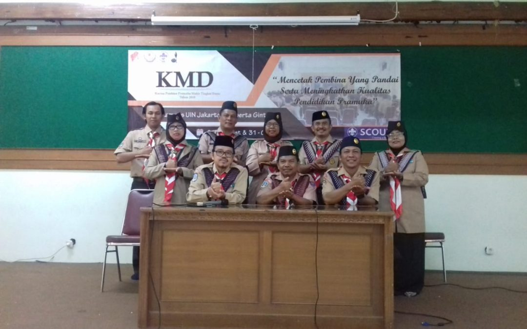 UIN Jakarta Scout Holds the Course for Prospective Coach