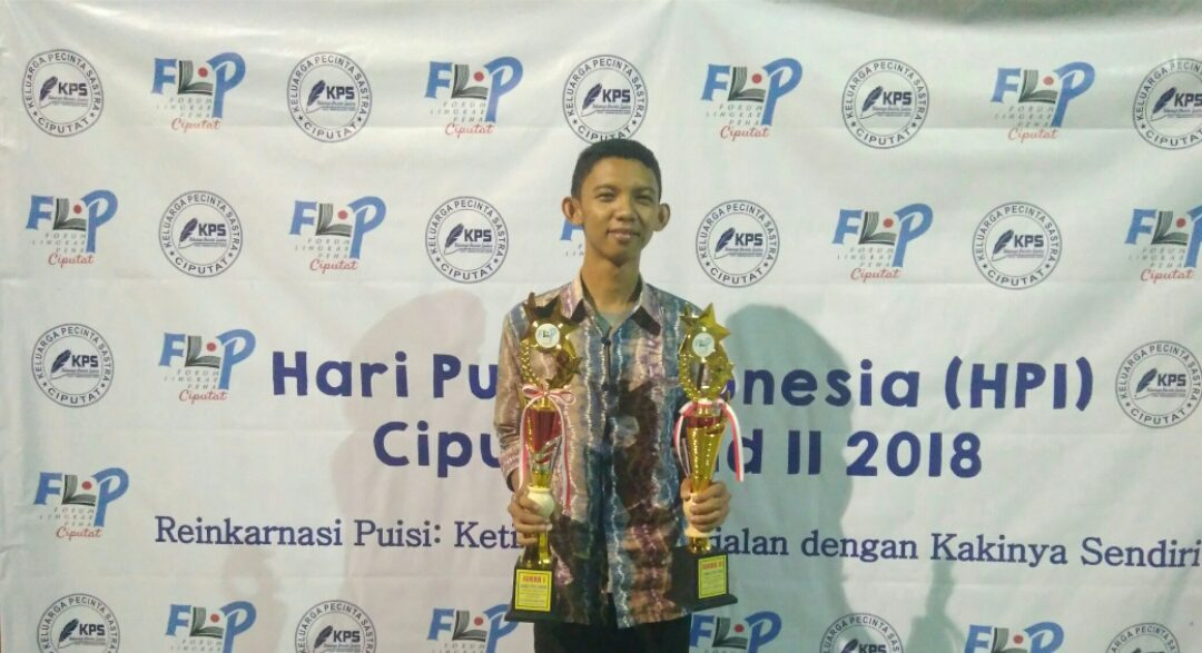 Muhammad Rifki Wins First Place in Cipta Cerpen & Third Place in Poetry Competition