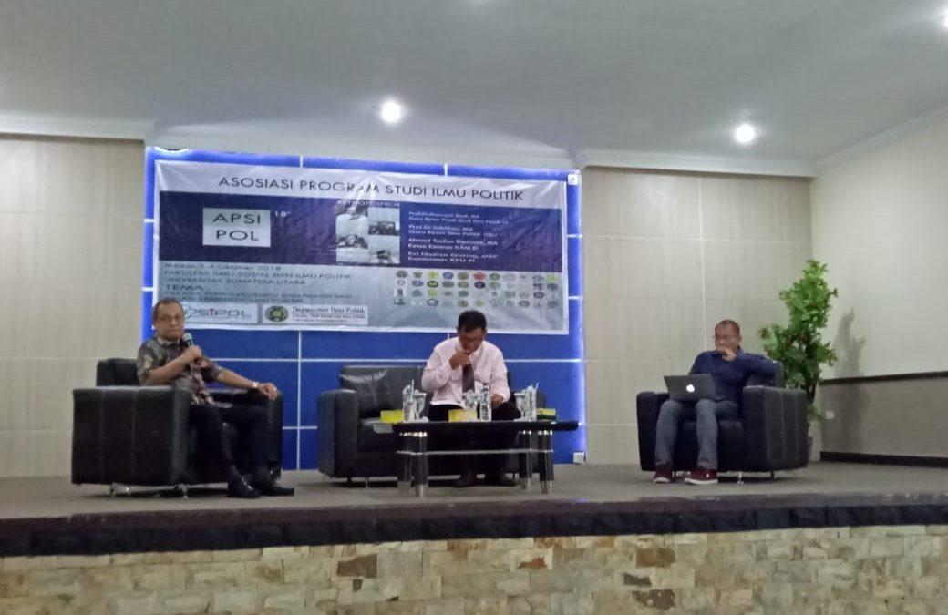 FISIP UIN Jakarta Berpartisipasi Pada Konferensi APSIPOL