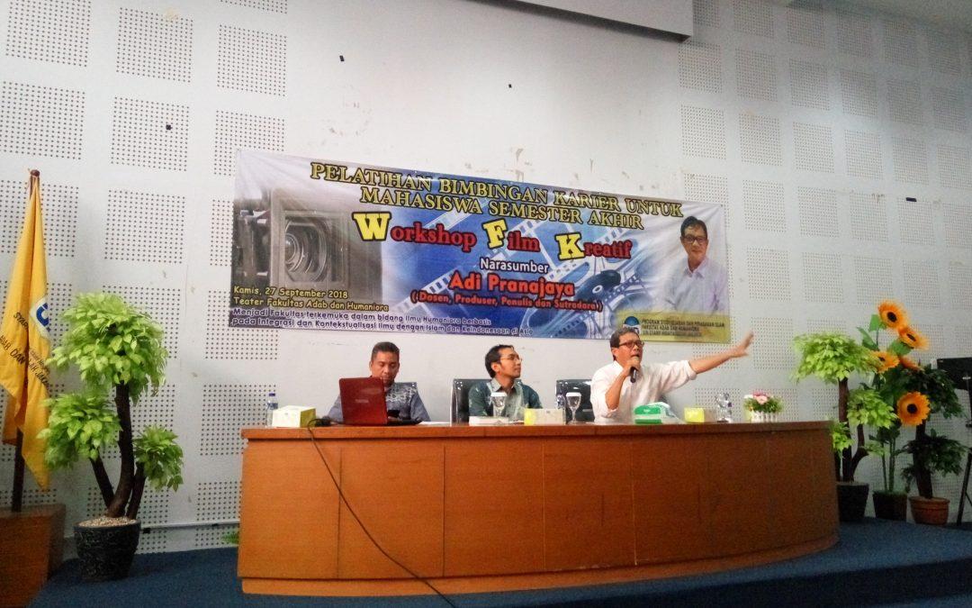 FAH UIN Jakarta Organize Creative Film Workshops