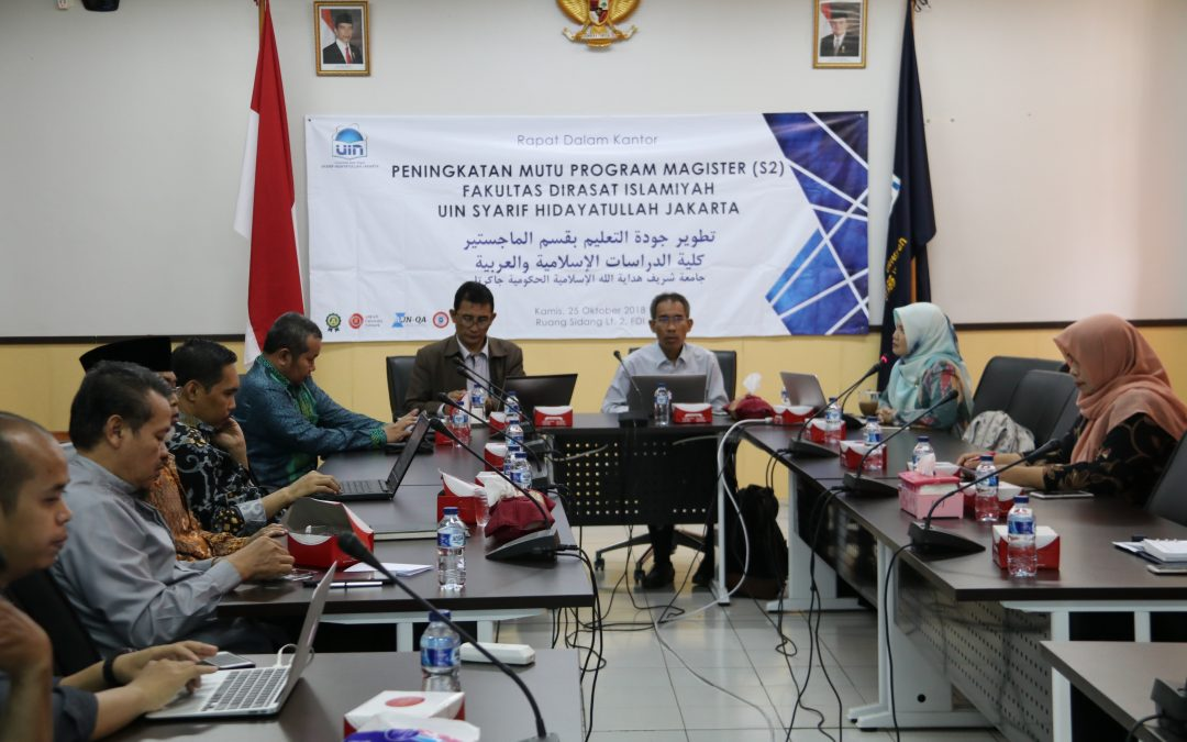 FDI UIN Jakarta, Adakan RDK Guna Tingkatkan Mutu Program Magister