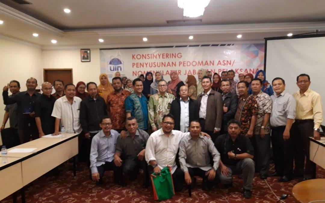 OKP Gelar Konsinyering Nomenklatur Jabatan Pelaksana