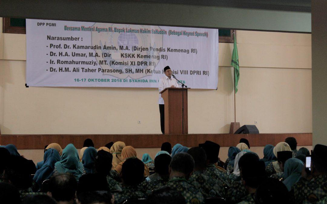 Menag Minta Guru Madrasah Tebarkan Perdamaian