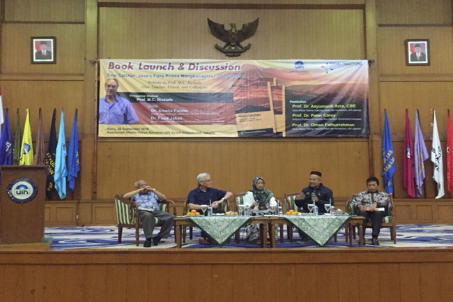 UIN Jakarta Launches Mangkunegara I History Book