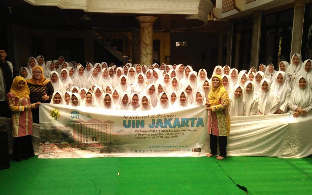 UIN Jakarta Sasar Madrasah dan Pesantren Jawa Timur