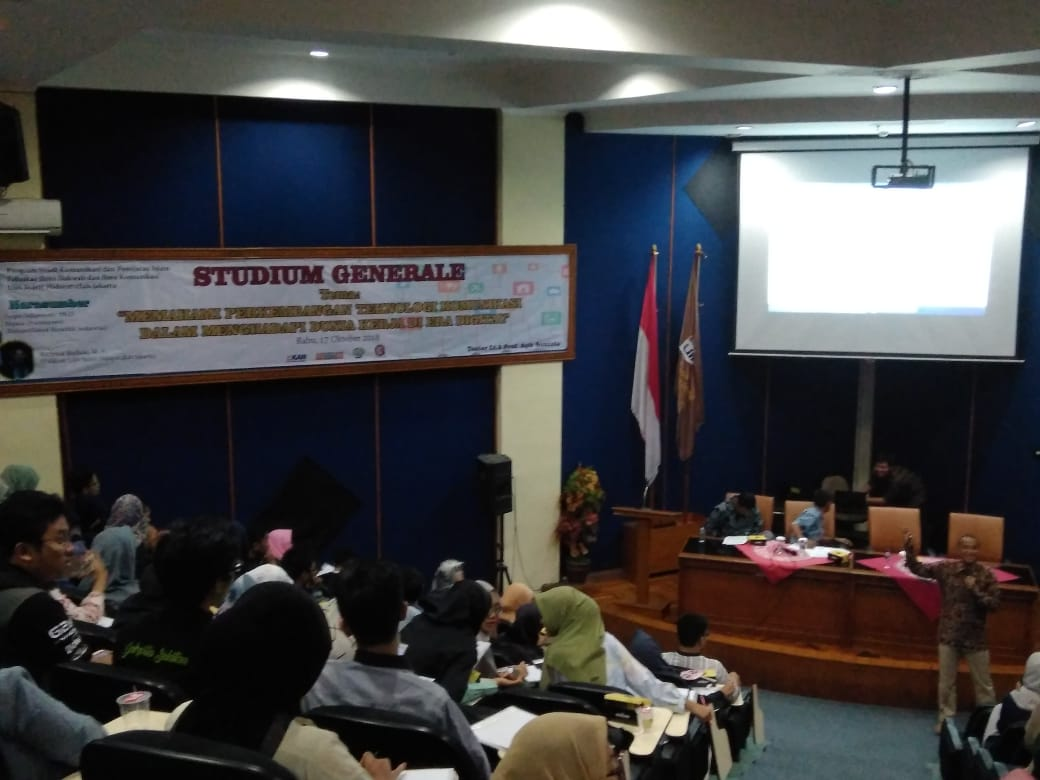 KPI UIN Jakarta Holds Studium Generale on Digital Technology