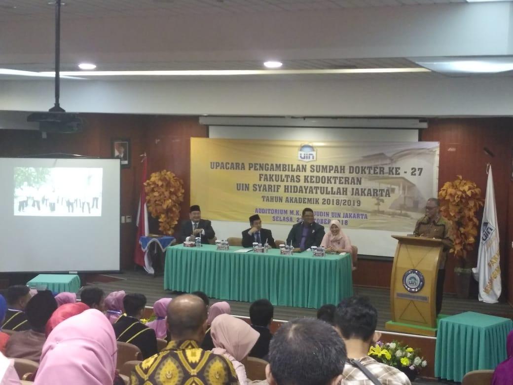 Rektor: Tiga Ciri Khas Dokter Lulusan FK UIN Jakarta