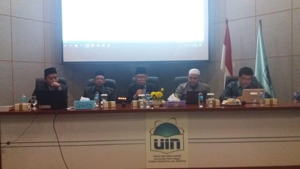 Dekan FU: Masyarakat Muslim dan Dunia Makin Butuh Kajian Hadits