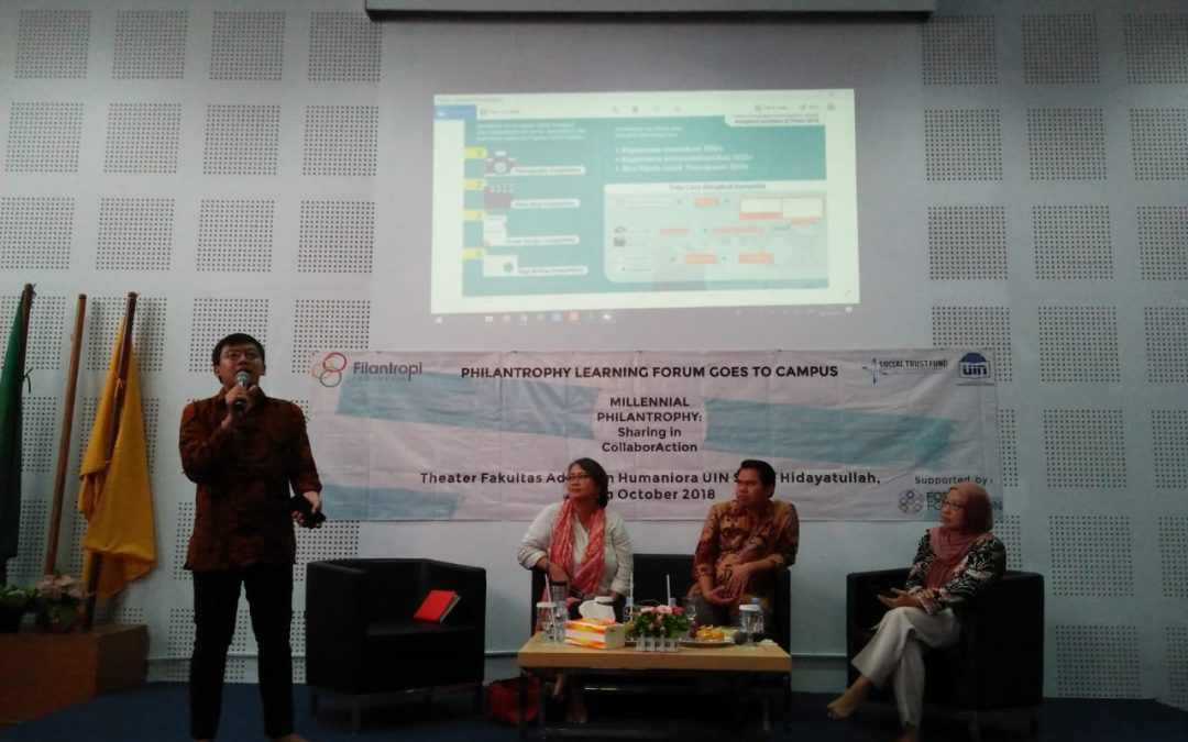 UIN Jakarta Students Need to be More Active in the Philanthropic Movement