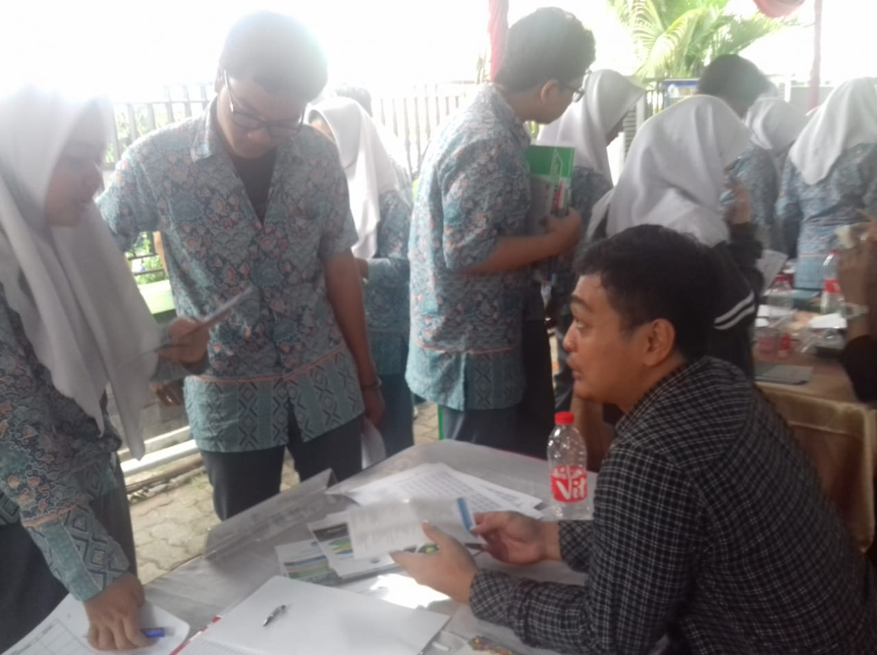 UIN Jakarta Sosialisasi di SMA Muhammadiyah 3 Jakarta