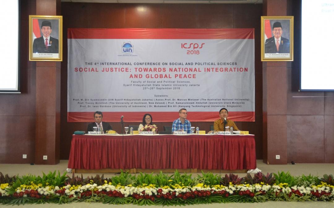 FISIP UIN Jakarta Holds ICSPS 2018