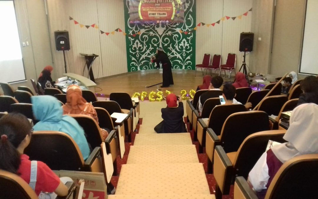 HMJ-PBI Gelar English Festival 2018